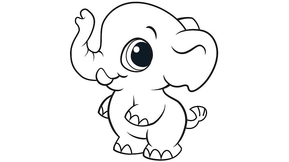 baby elephant coloring pages aaldtk