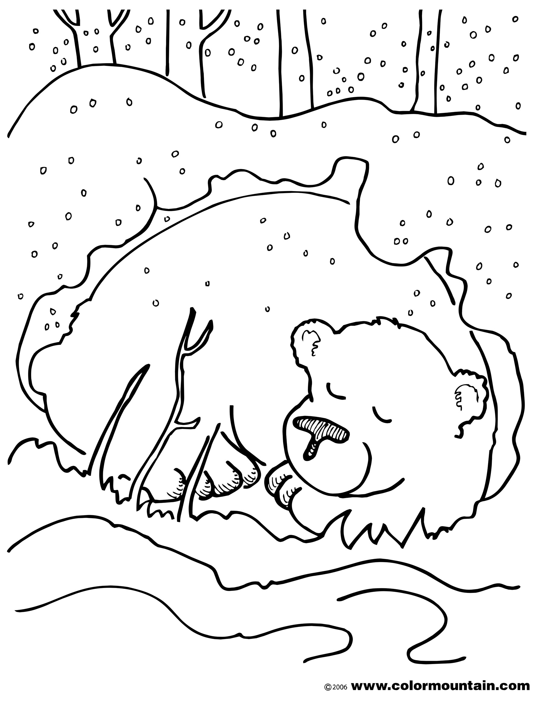 Brown Bear Coloring Pages Download And Print For Free
