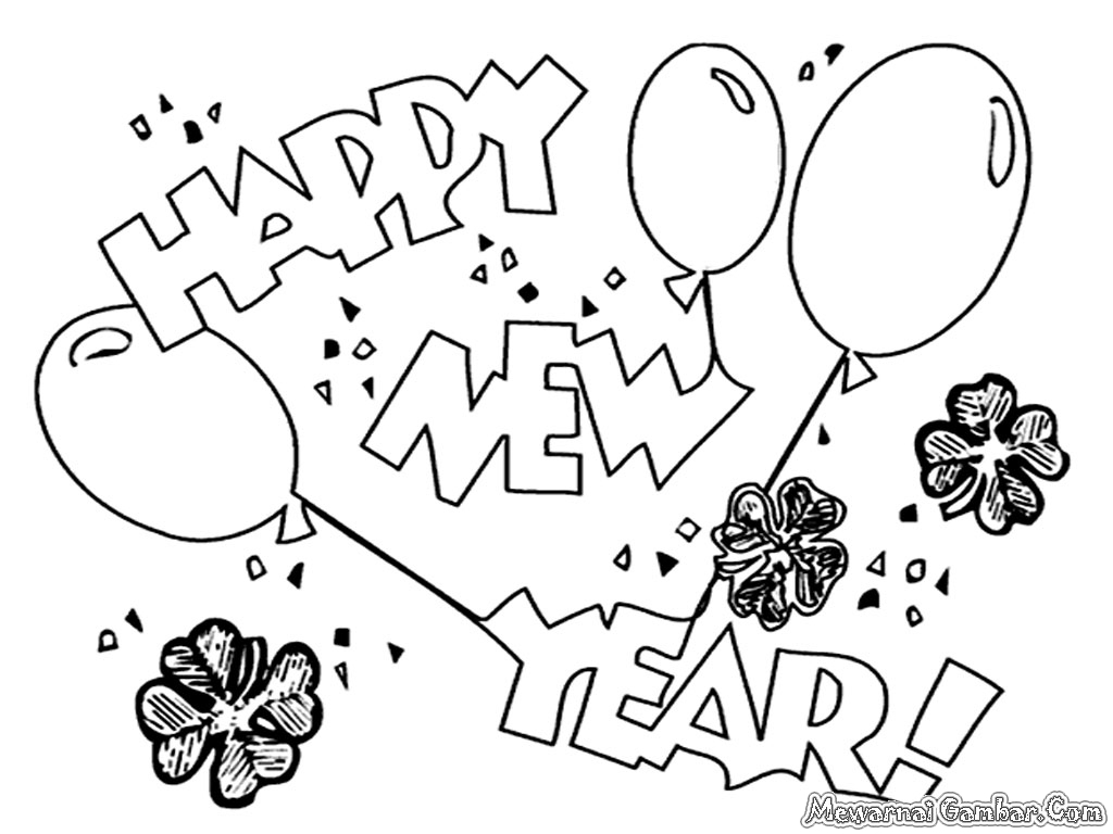 new year colouring pages 2016 new years new years archives inc
