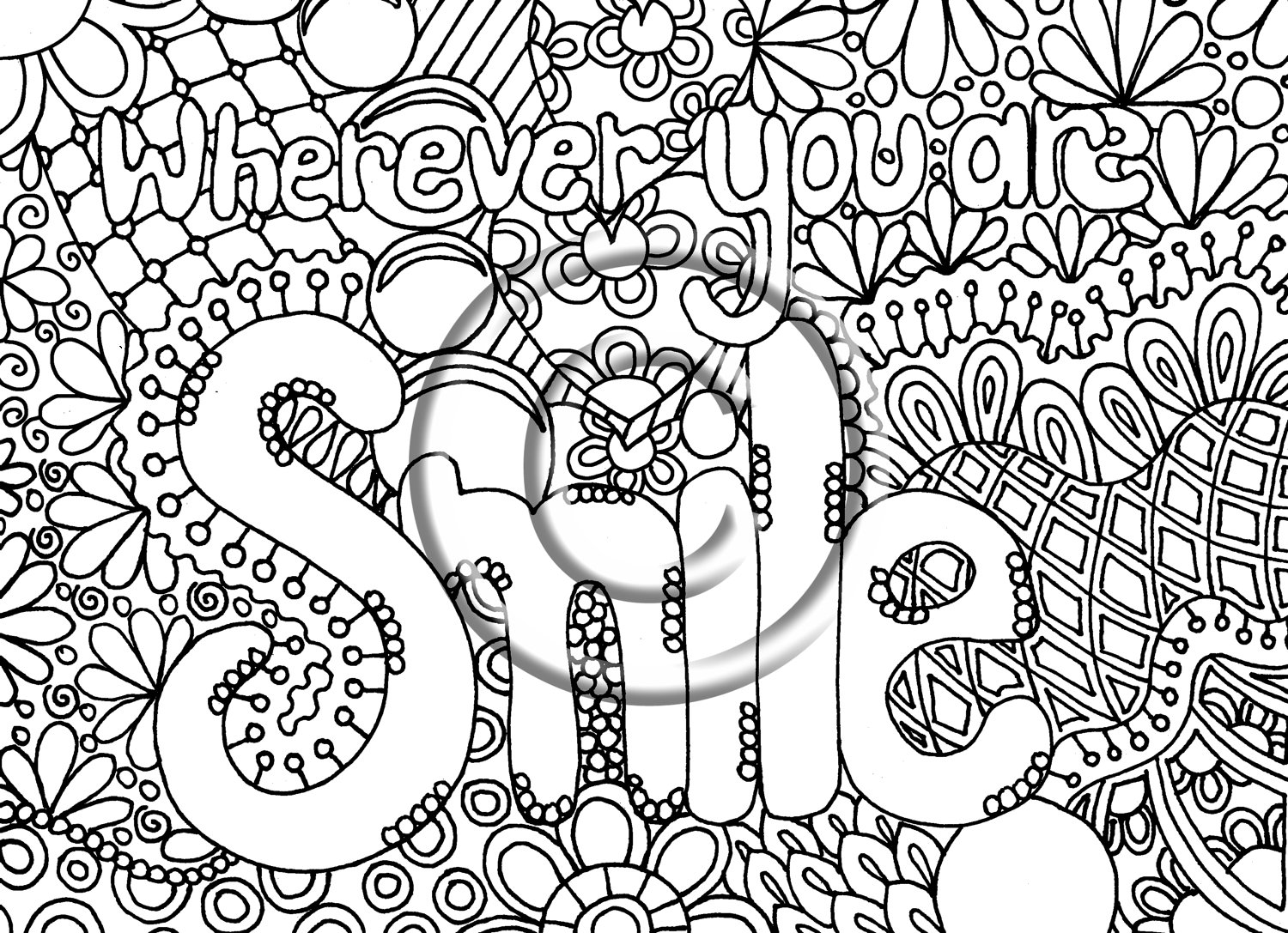 Abstract Coloring Pages To Download And Print For Free