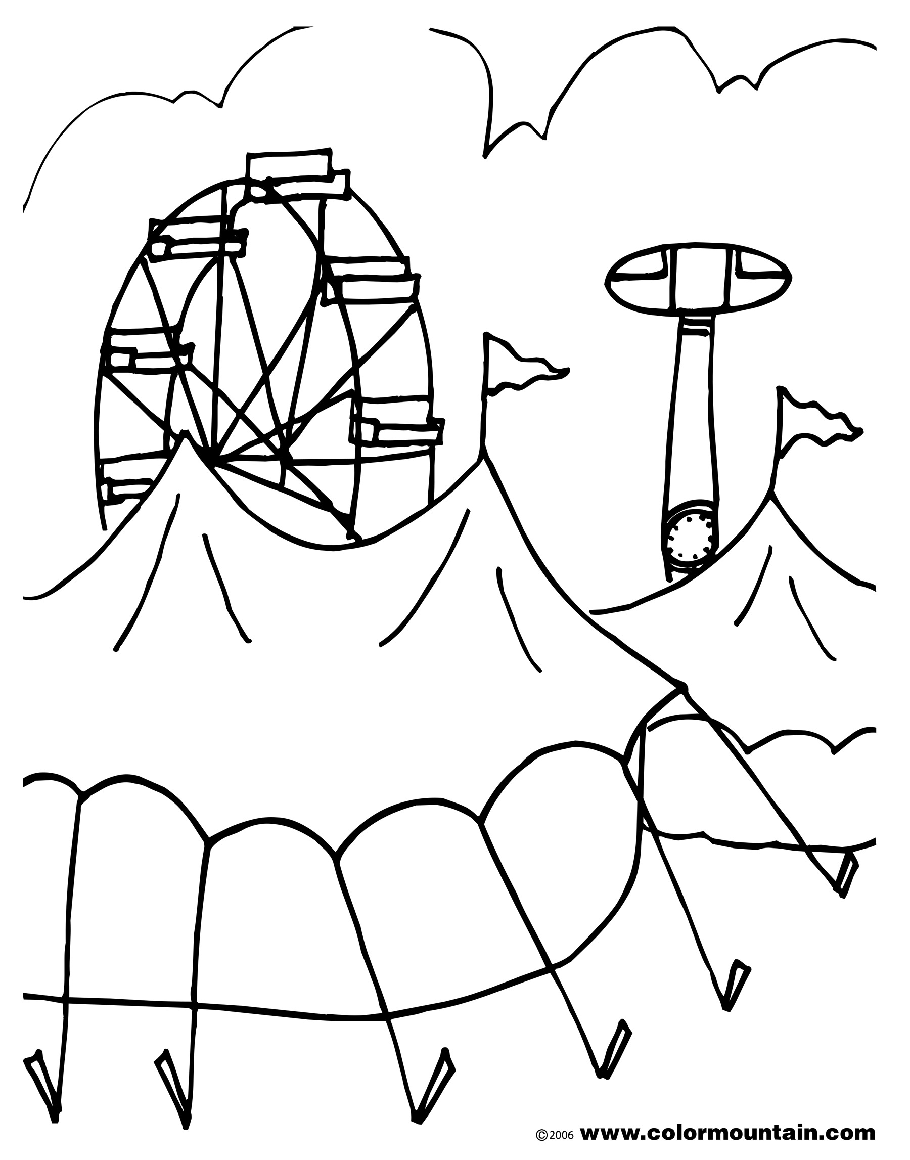 Coloring Pages Preschool Worksheets Carnival T