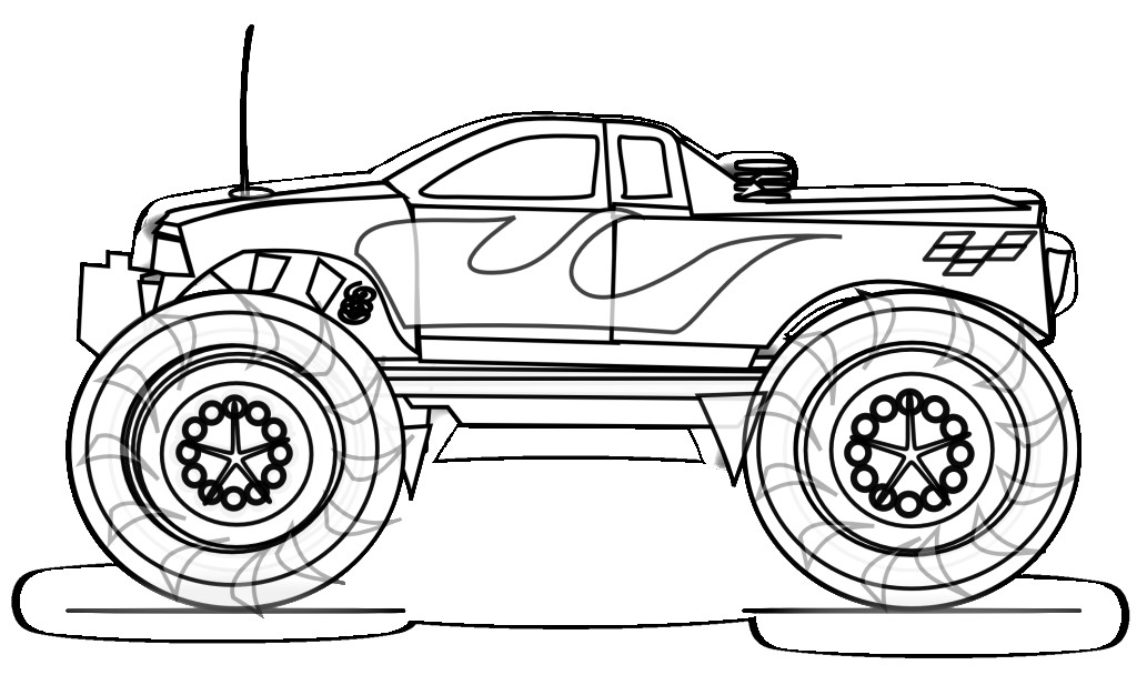 truck coloring pages banburycrossltd com