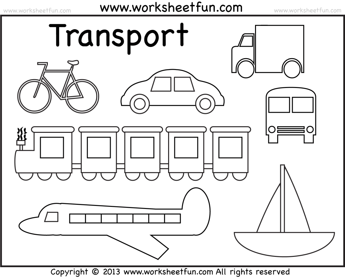 Water transport coloring pages download and print for free | transportation coloring pages for preschool