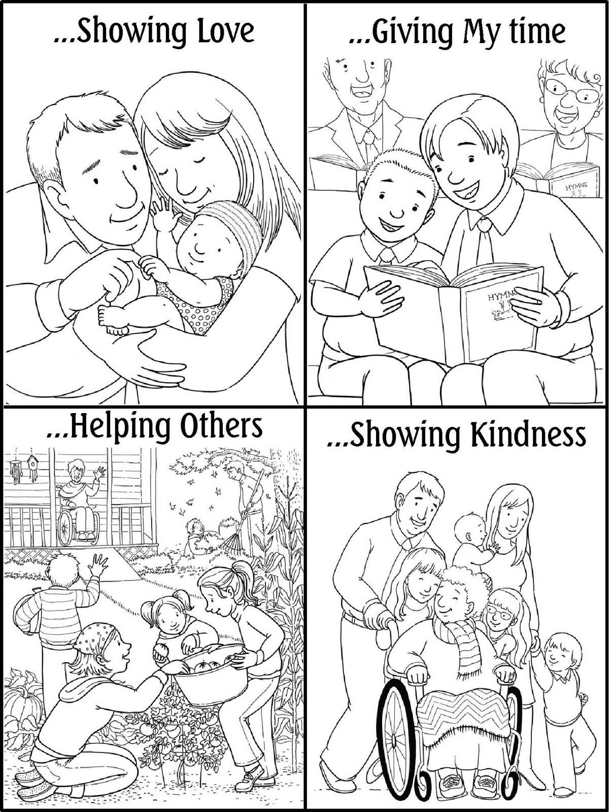 Lds Coloring Pages To Download And Print For Free