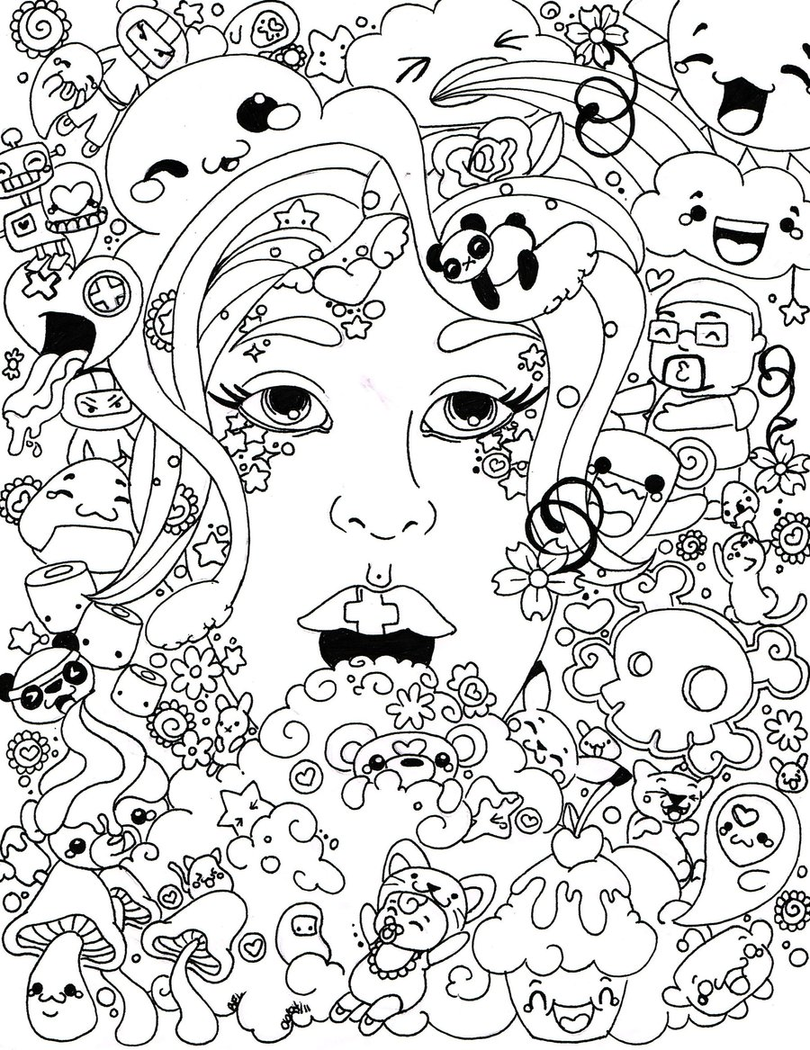 free psychedelic coloring pages to print for kids download print and