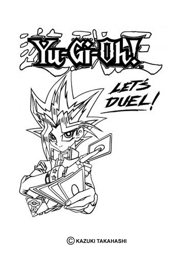 Yugioh coloring pages download and print free, minion coloring pages