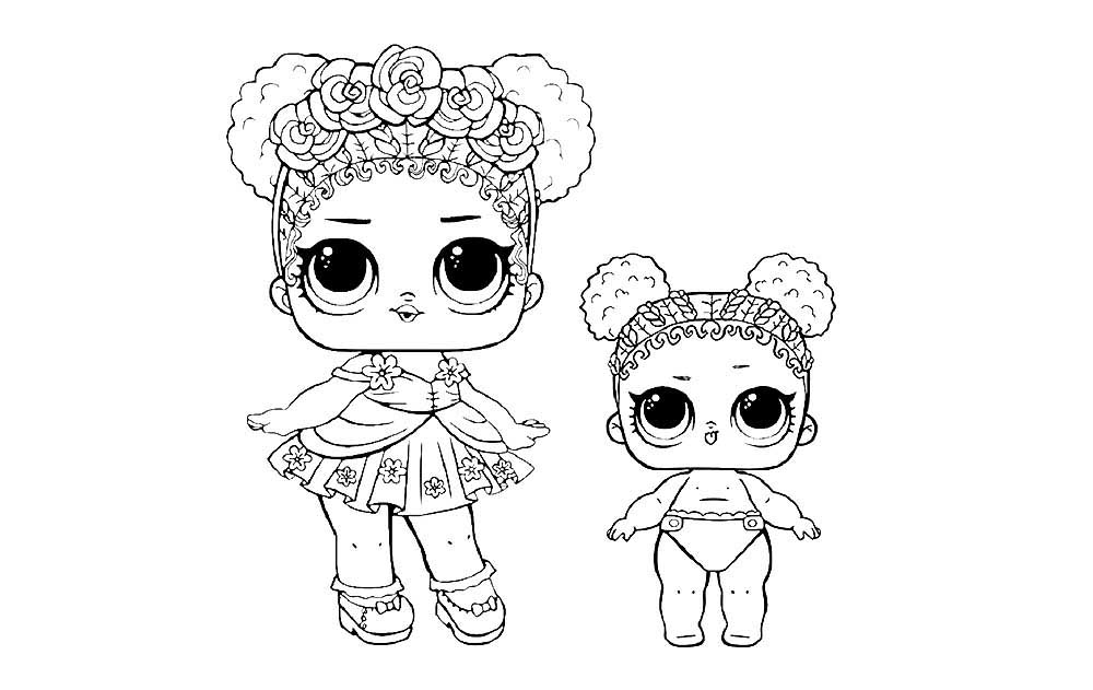 LOL SURPRISE CONFETTI POP Coloring Pages To Download