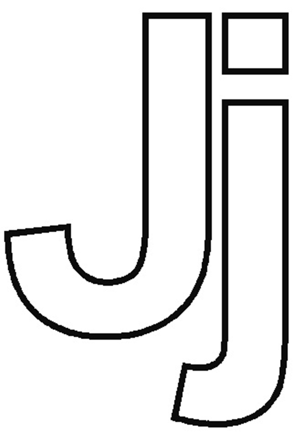 Letter j coloring pages letter j coloring pages to download and print