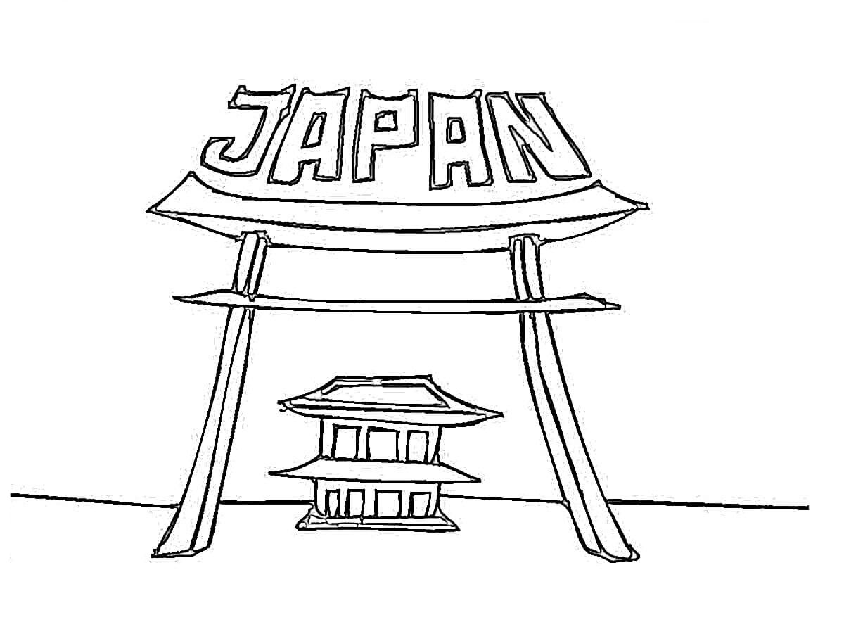 Japan Coloring Pages To Download And Print For Free