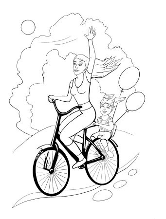 Healthy Lifestyle Coloring Pages To Download And Print For