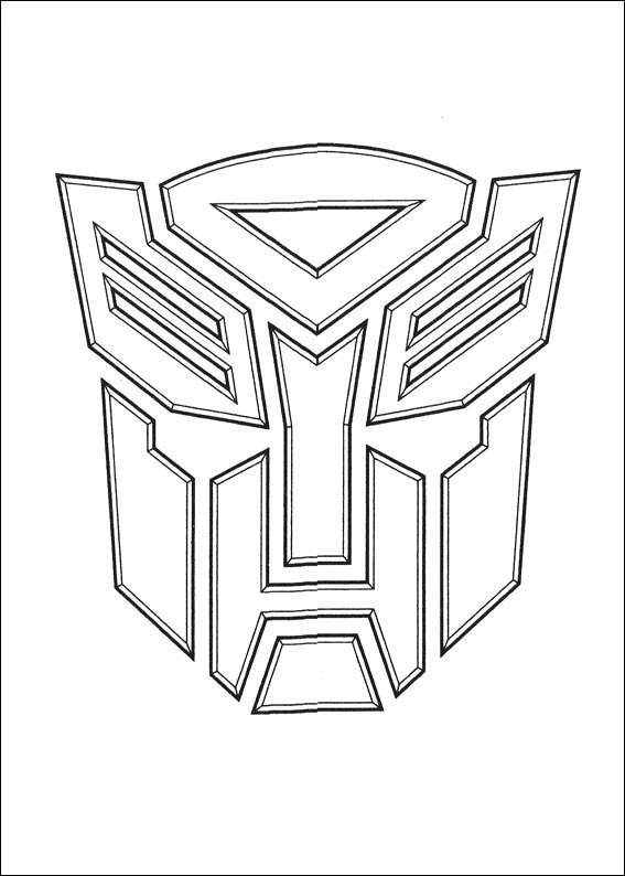 robots and transformers coloring pages for kids just print for free