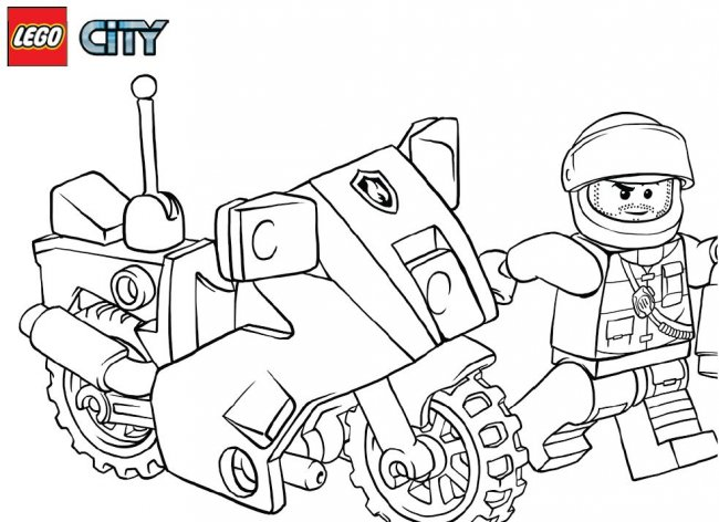 free coloring pages lego city cooloring com