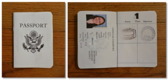 passport collage