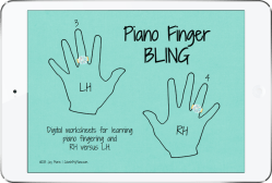 Piano Finger Bling preview iPad