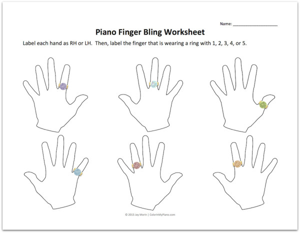 picture relating to Finger Twister Printable identify palms Archives - Coloration Within just My Piano