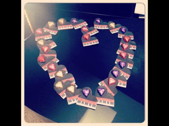 Piano Valentine - Berrymond