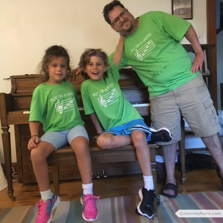 2016 T-shirts Challu family w