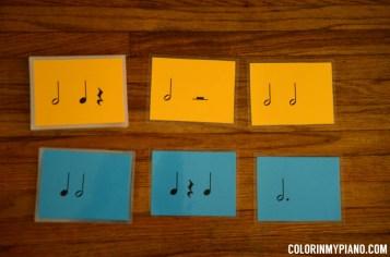 Jumbo Rhythm Cards - Set 1