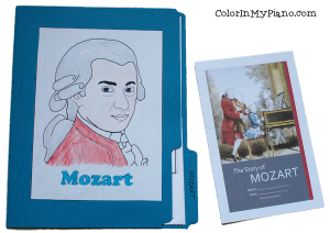 Mozart lapbook