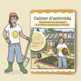 Illustration : cahier d'activité