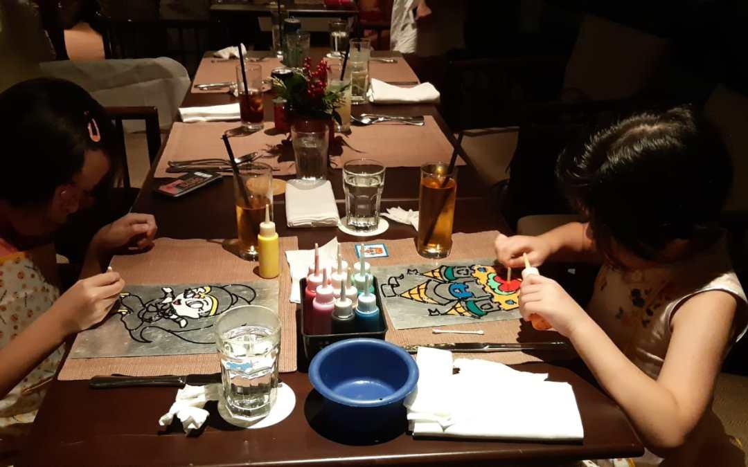 Birthday Party At Shangri-la Hotel Waterfall Restorante Italiano on 1st Dec 2018
