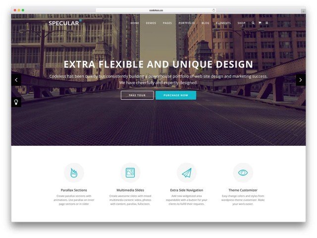 specular-clean-business-wordpress-template