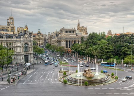 Spain-Plaza-de-Cibeles-Madrid