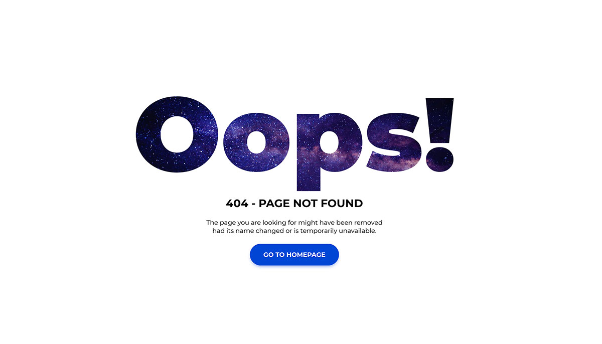 26 Best Easy To Use Free 404 Error Page Templates 2019