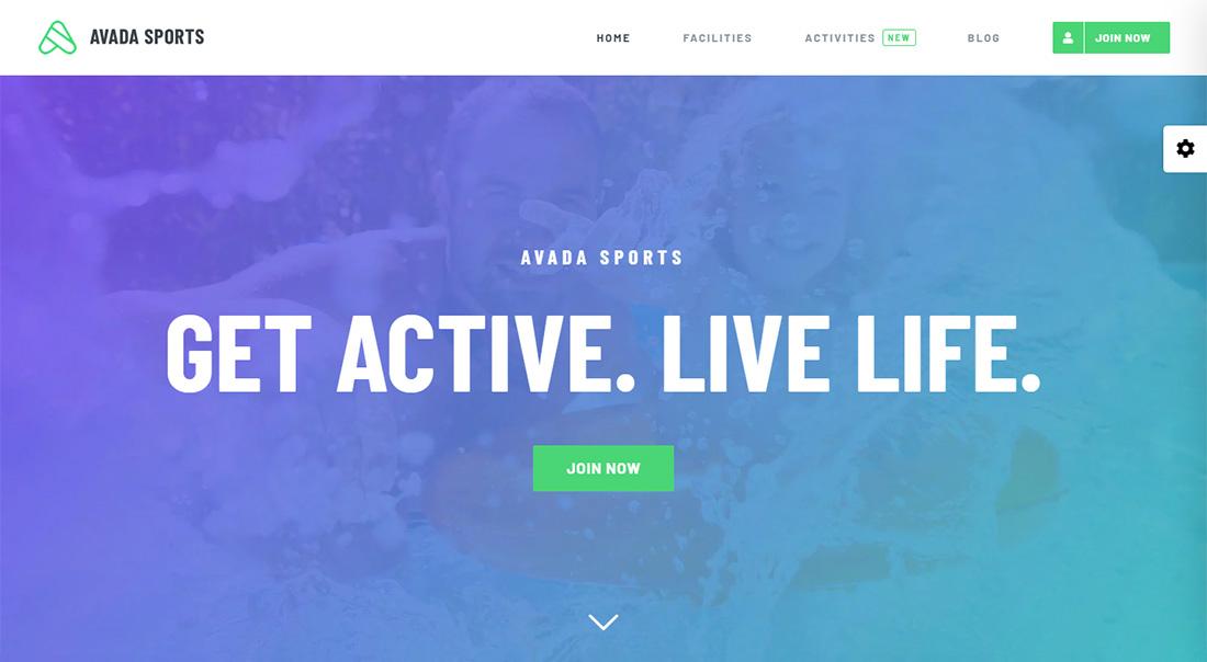 Avada WordPress Golf Theme