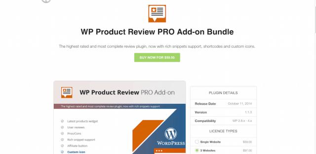 WP Product Review PRO Bundle