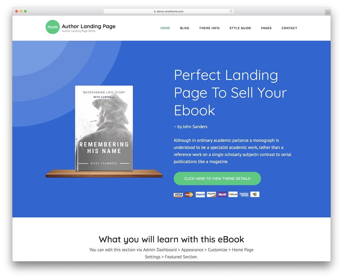 25 Best Free Landing Page Wordpress Themes 2019 Colorlib