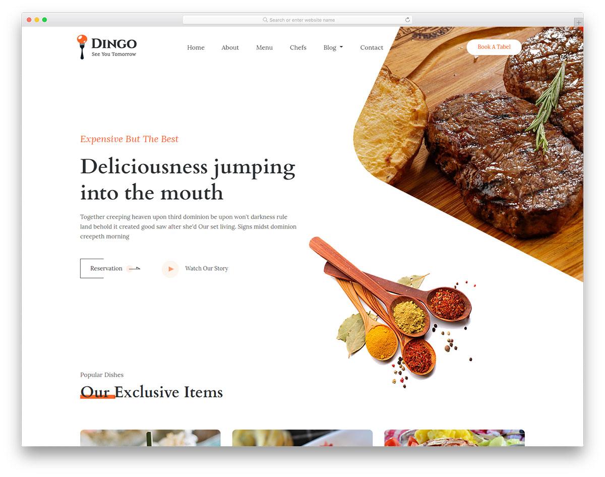 dingo free template