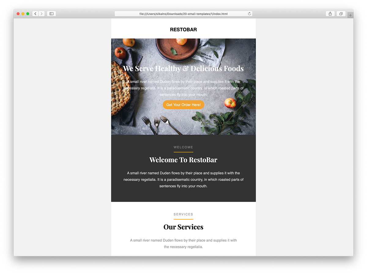 Top 31 Free Paid Mailchimp Email Templates 2019 Colorlib