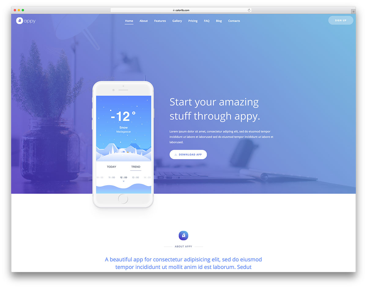 93 Free Simple Website Templates Based On Html Css 2020