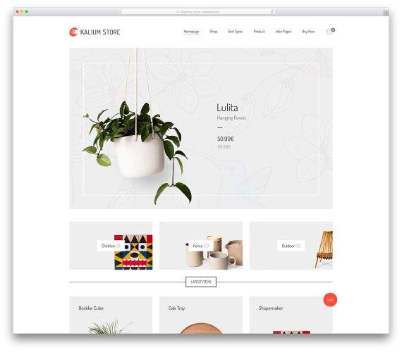 Kalium  WordPress eCommerce Themes