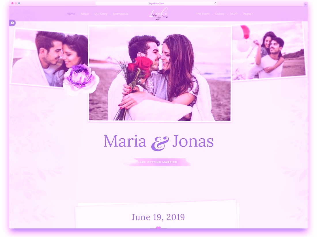 Wedding Websites Our Story Examples - Wedding Ideas