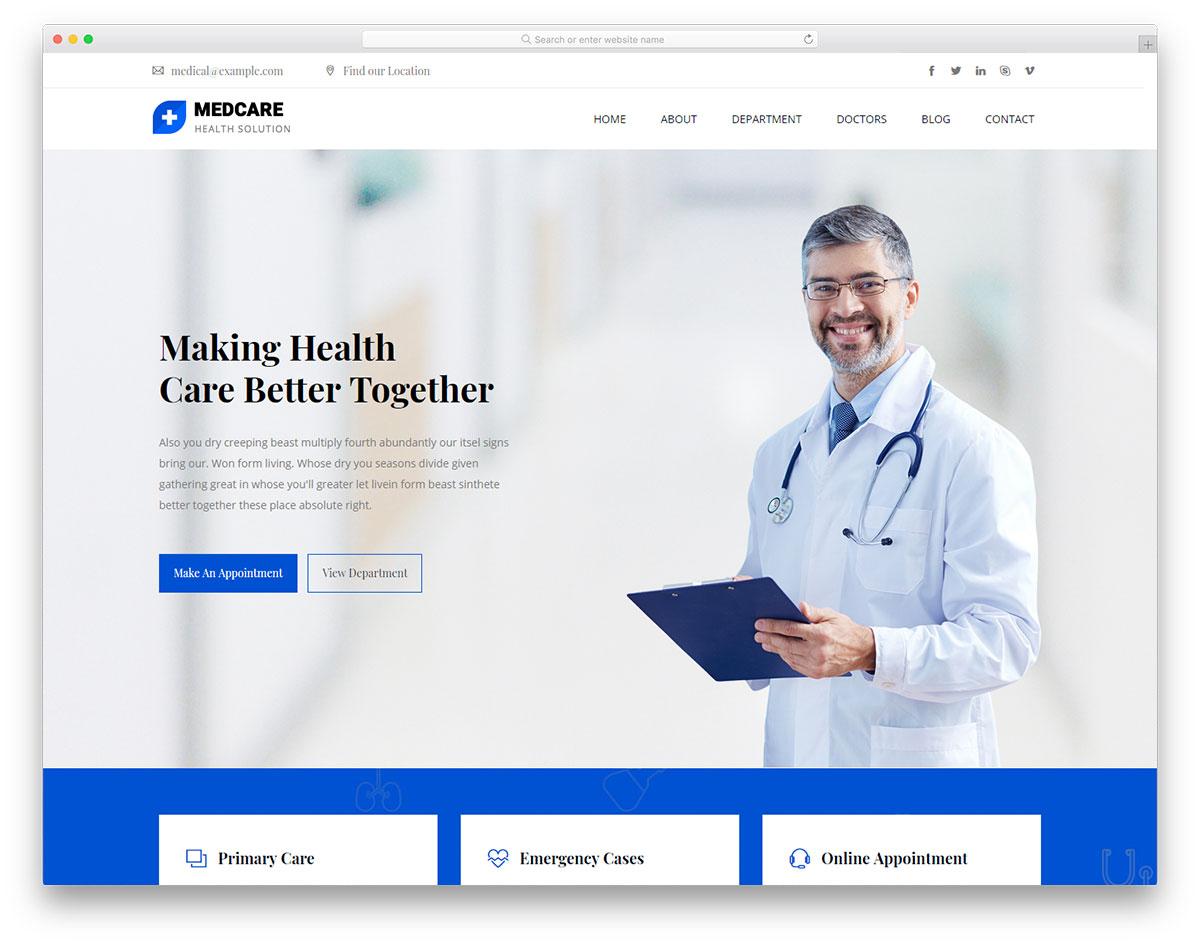 medcare free template