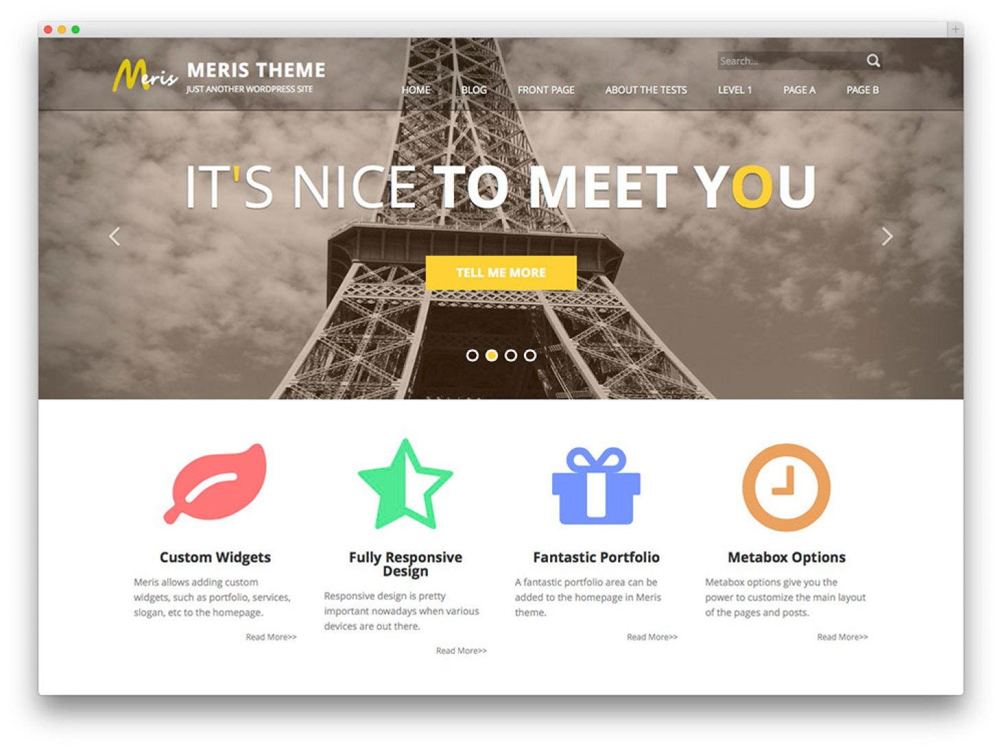 Meris - tema livre WordPress