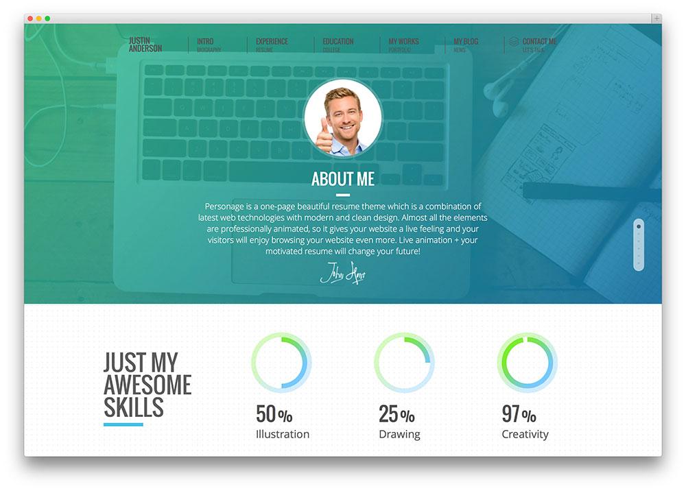 Real CV Examples Resume Samples - Visual CV Free