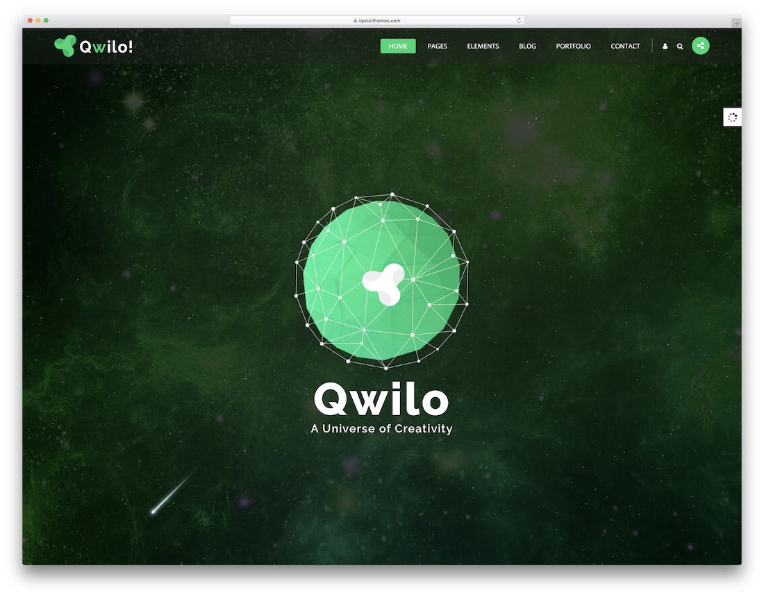 qwilo consulting website template