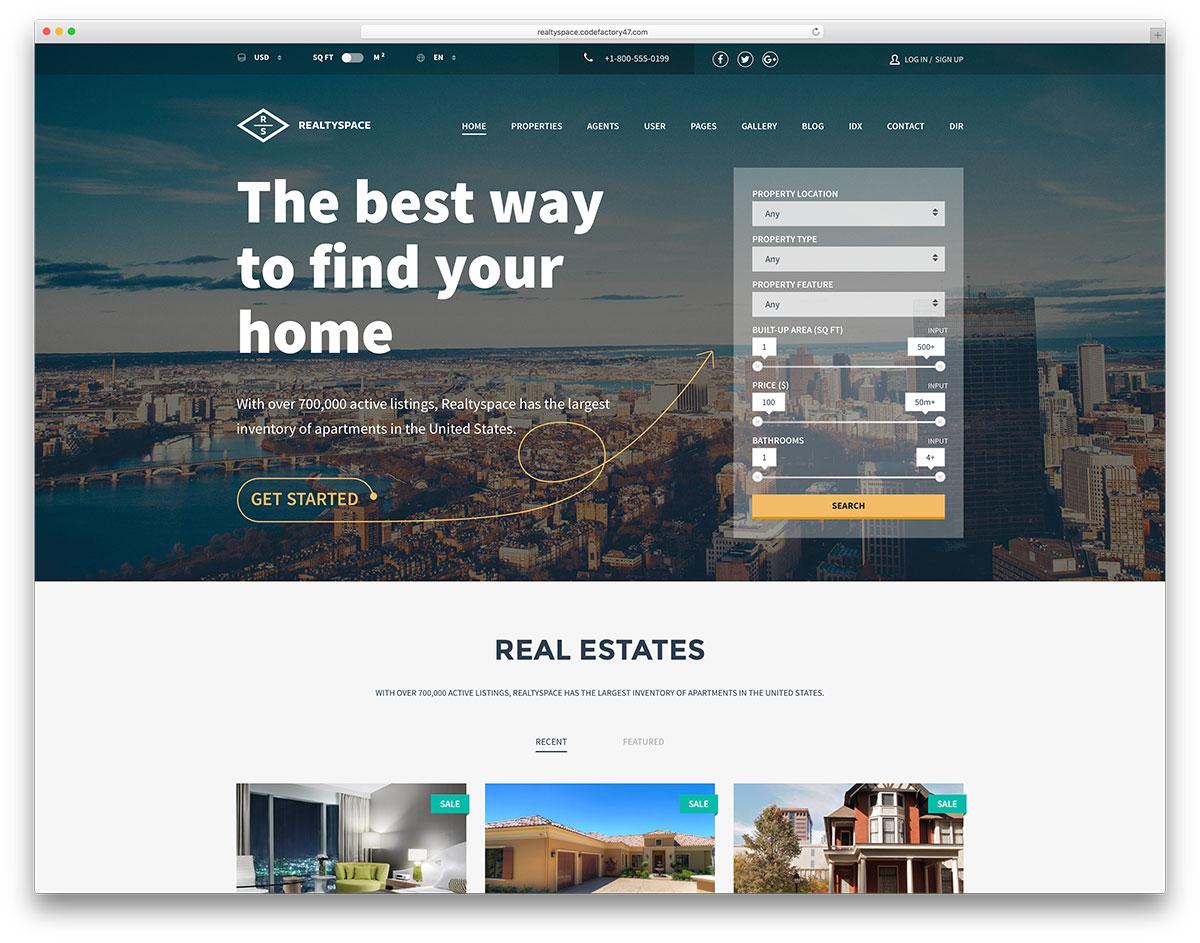 34 Best Real Estate Wordpress Themes 2020 Colorlib