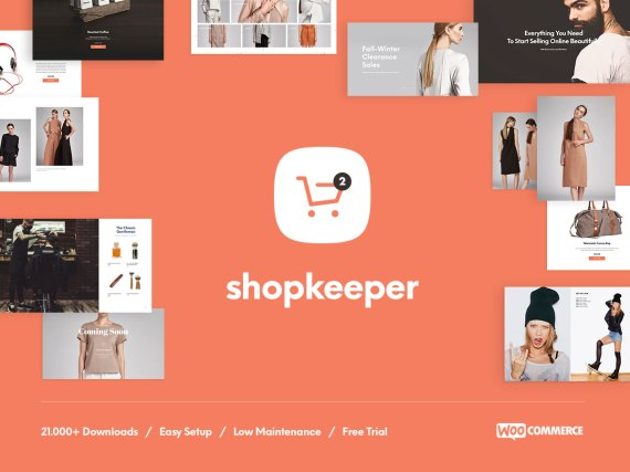 Shopkeeper  WordPress eCommerce Themes