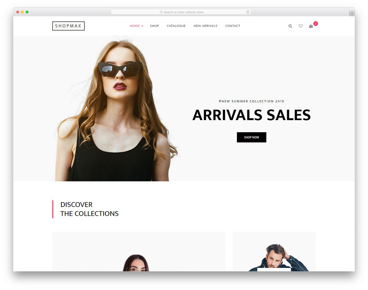 shopmax free template