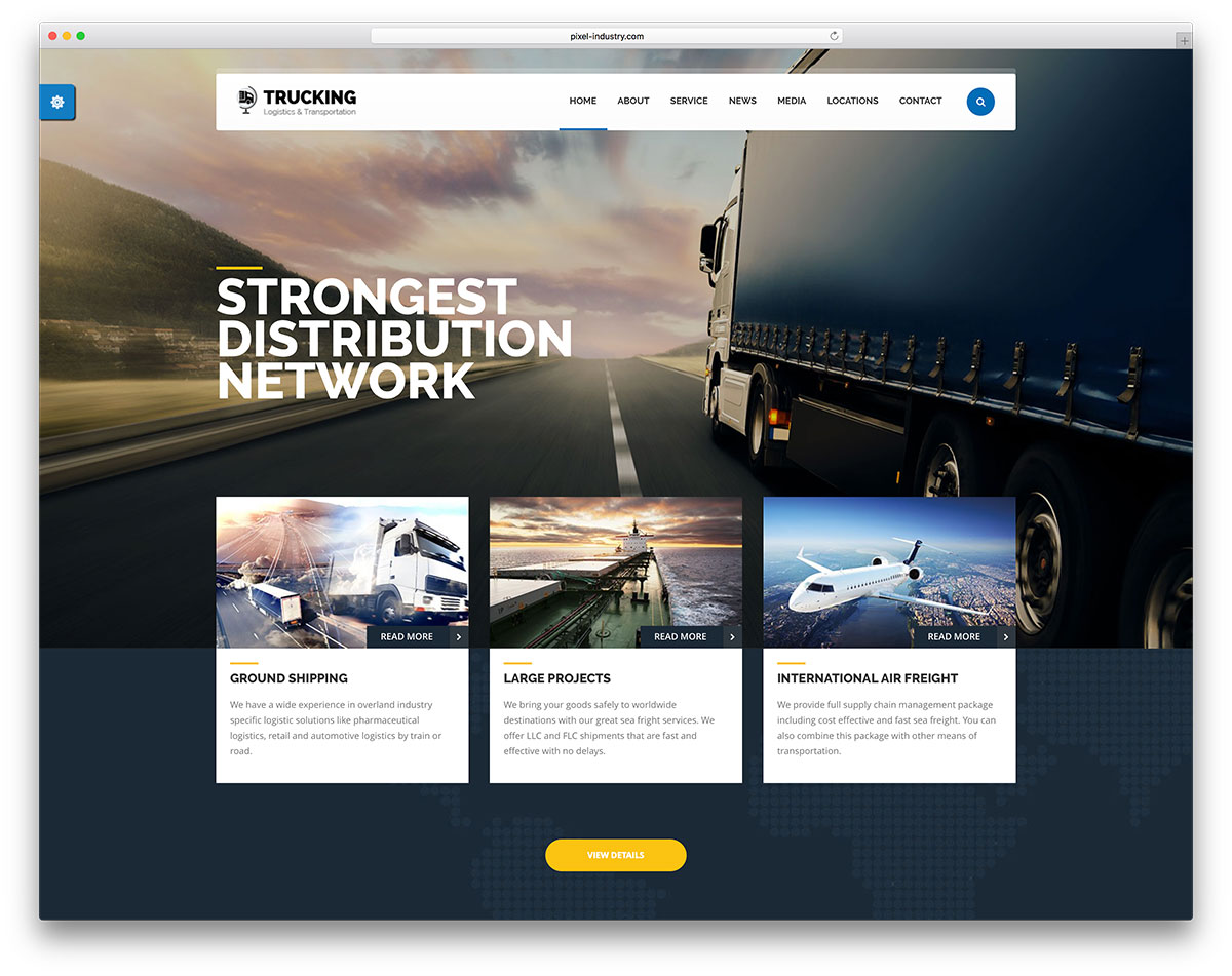 32 Top Transportation Logistics Wordpress Themes 2020