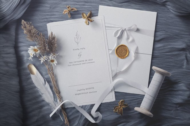 Wedding Invitation Mockup Templates