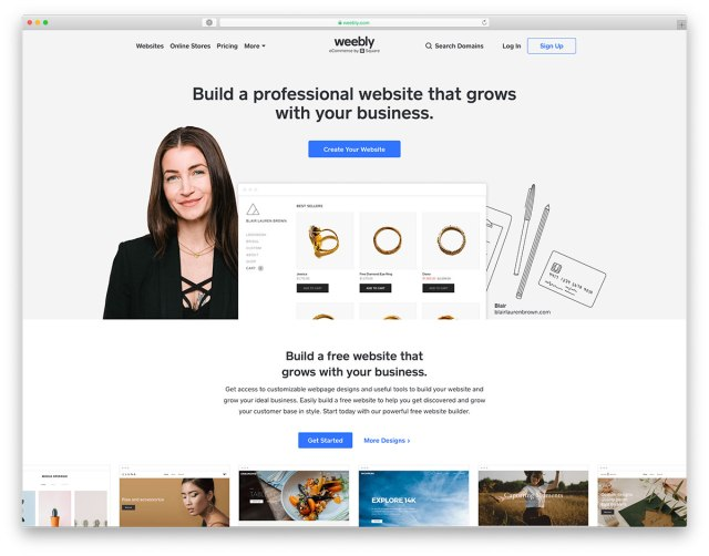 12 Best Free Personal Website Builder Solutions 12 - Colorlib