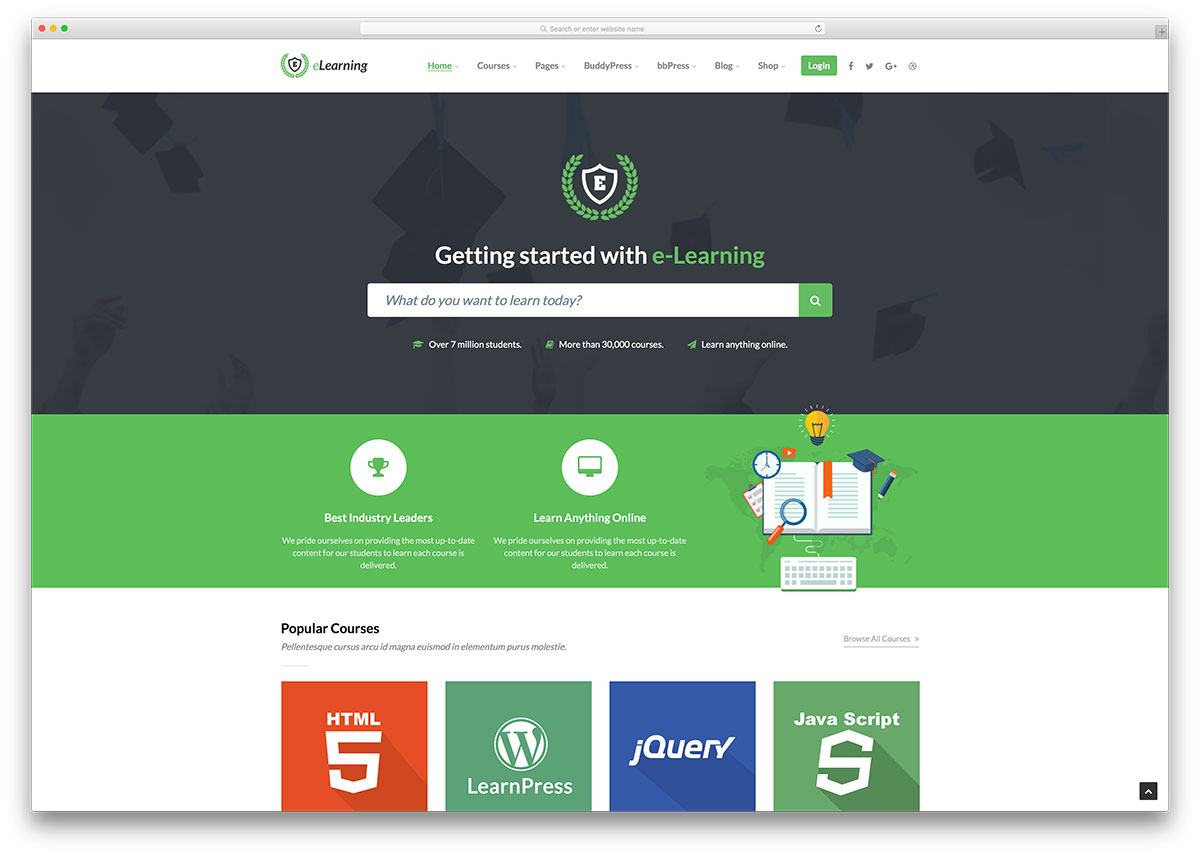 22 Lms Learning Management System Wordpress Themes 2020