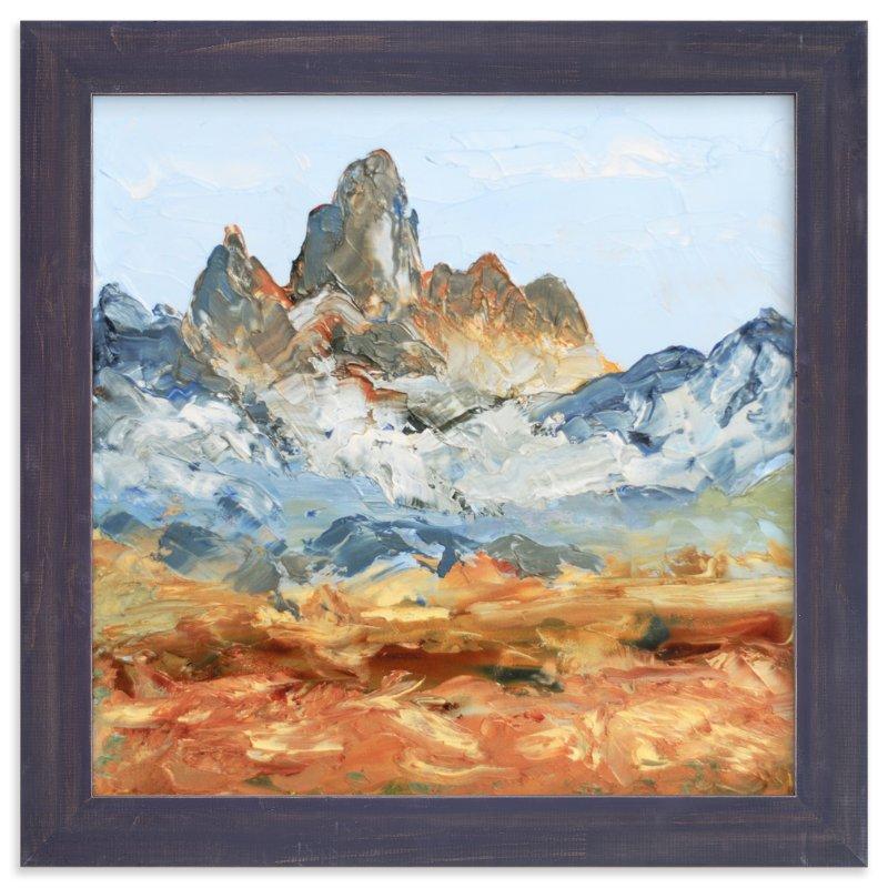 National Park Paintings - Grand Teton