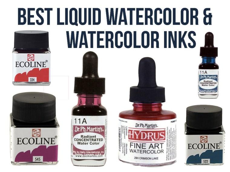 Best Liquid Watercolor & Watercolor Ink for Artists