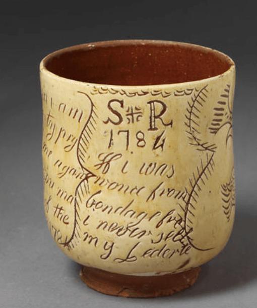 V&A ceramic 1700s
